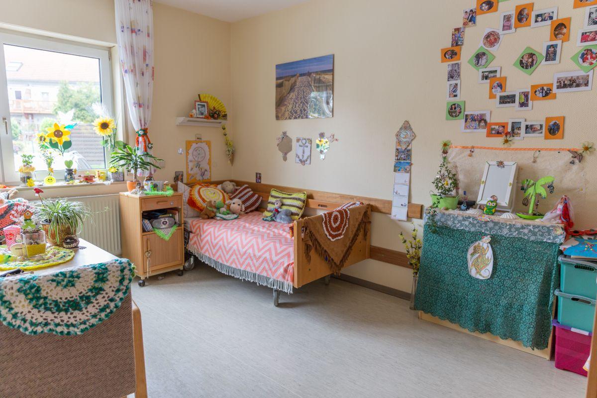 Selbstgestaltetes Zimmer